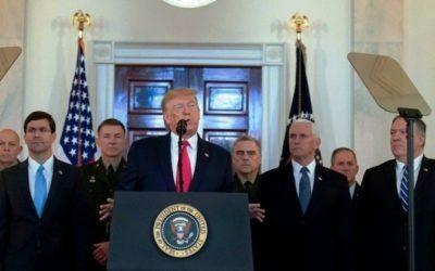 Donald Trump anunció nuevas sanciones económicas contra Irán