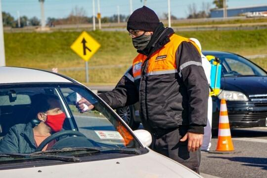 Covid-19: Reforzaron controles municipales de vehículos, especialmente en zona sur