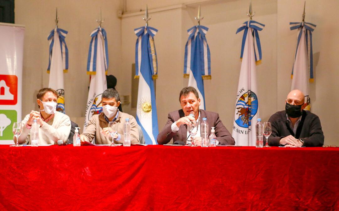 Un amplio plan de obras públicas anunciaron para San Lorenzo