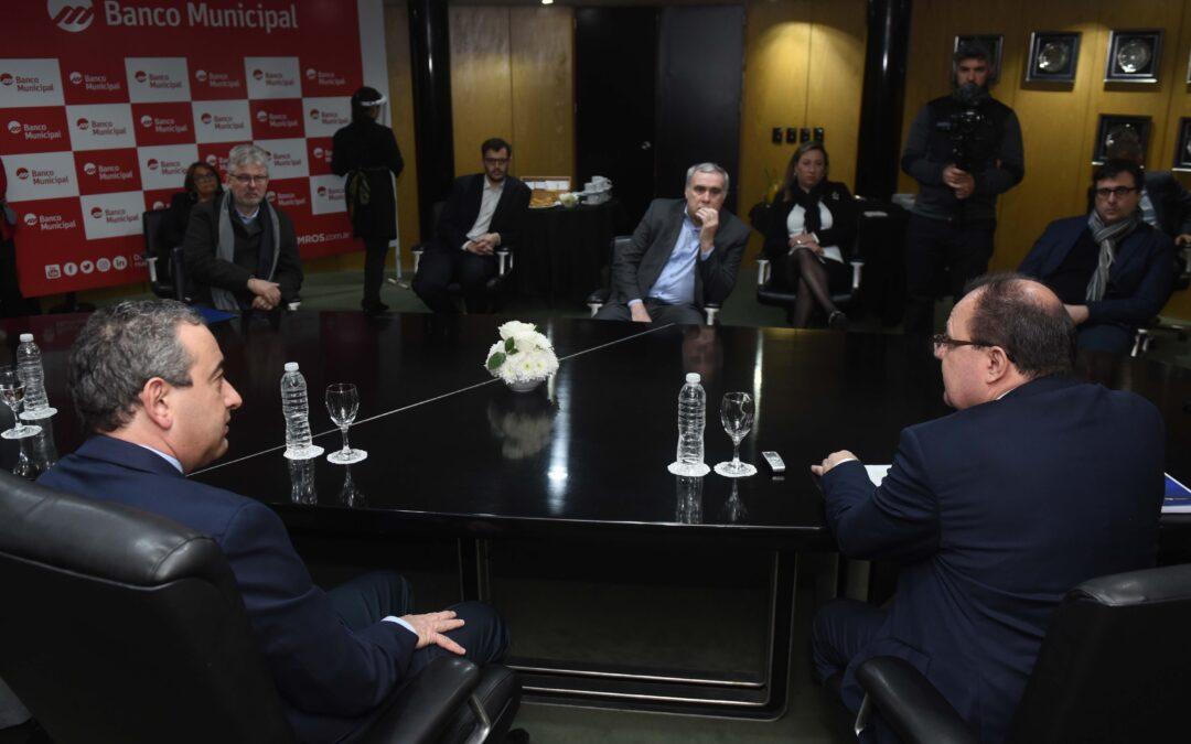 Asumieron las nuevas autoridades del Banco Municipal de Rosario