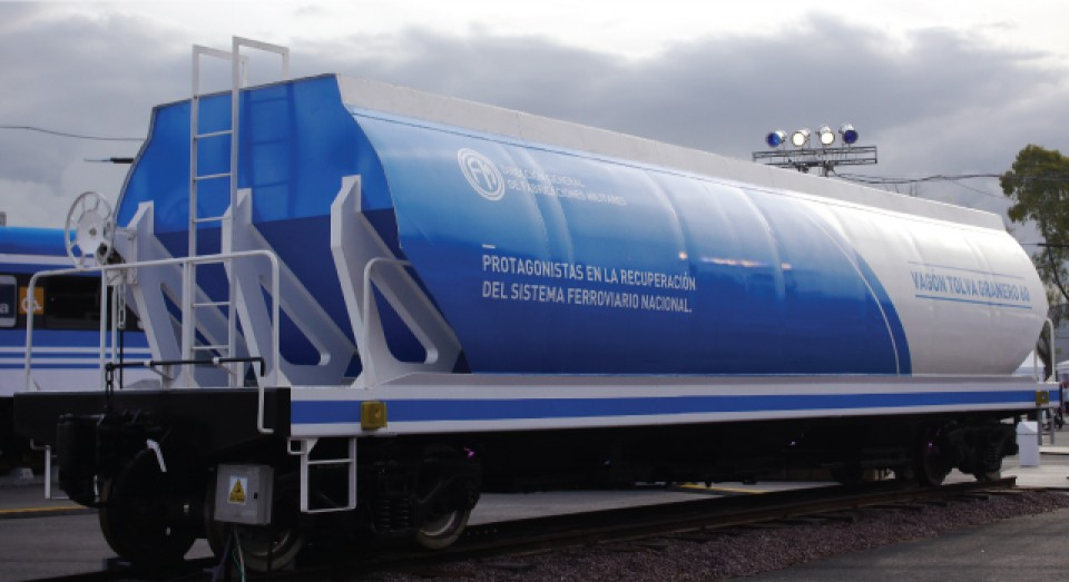 Rescatan vagones que la gestión macrista dejó abandonados en el 2016