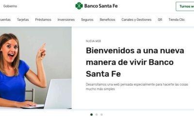 El Banco de Santa Fe presentó su nuevo sitio web totalmente renovado y multidispositivo