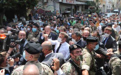 """Macron visitó Líbano y pidió """"reformas indispensables"""" y un """"nuevo pacto político"""
