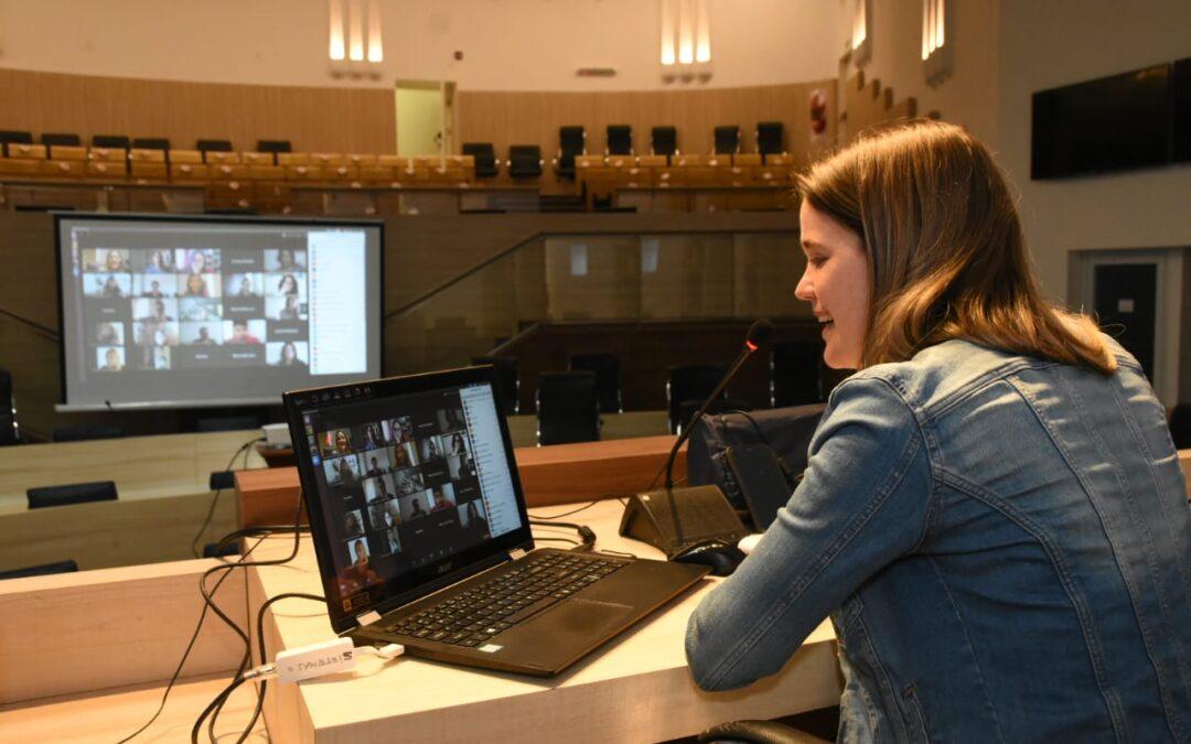 Presentaron 'Deliberamos', la revista digital del Concejo Municipal rosarino