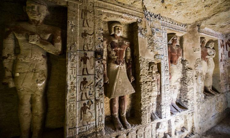 El misterioso submundo de las tumbas históricas