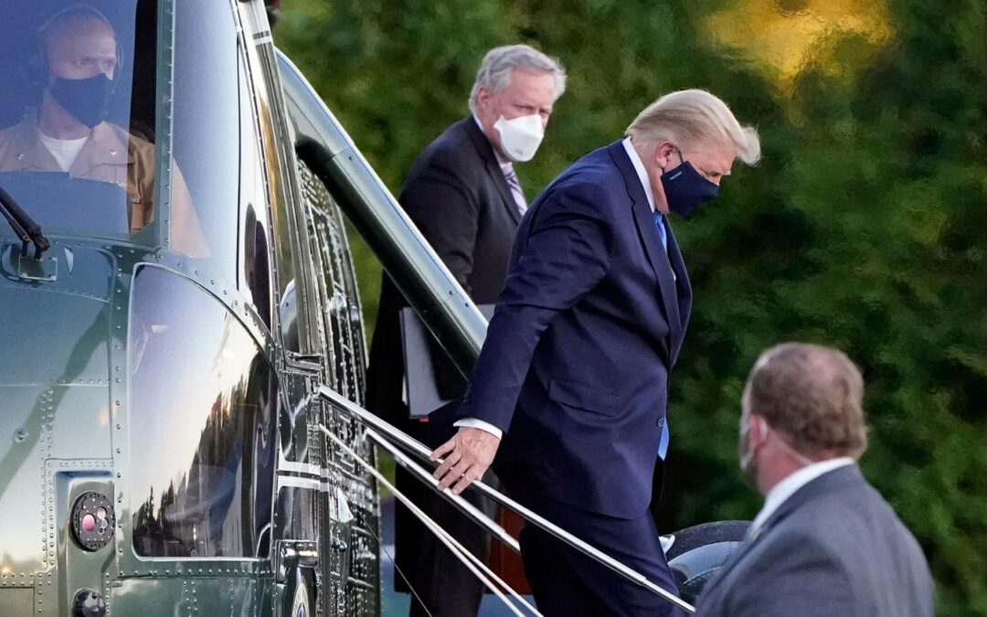 Covid-19: La salud de Donald Trump envuelta entre incertidumbre e informes contradictorios