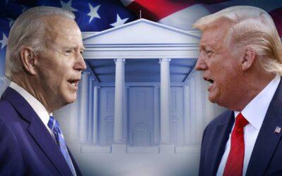 """Biden vs. Trump, y los daños colaterales provenientes """"por fuego amigo"""""""