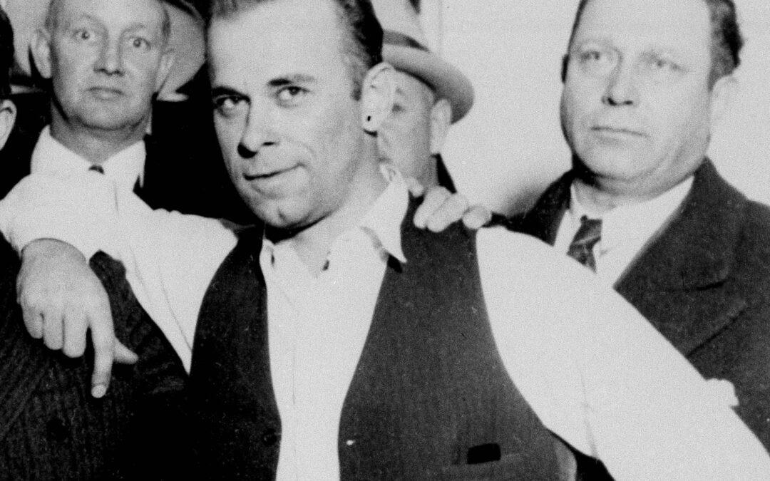 John Dillinger: 'El pistolero comparado con Robin Hood'
