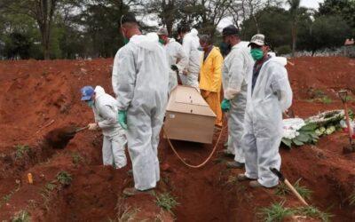 Este 2020 terminó con 1,8 millones de muertes en el mundo por la Pandemia de Covid-19