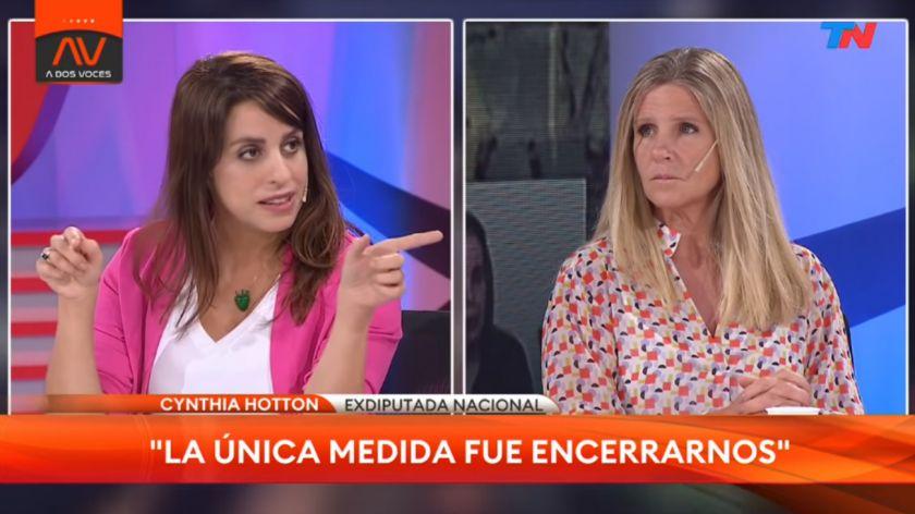 """La ex diputada nacional Cynthia Hotton pidió la renuncia de Victoria Donda al frente del INADI por """"intolerancia y discriminación"""""""