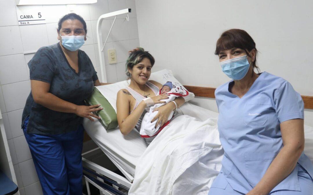 Rodrigo es el primer rosarino 'Modelo 2021' y nació en la Maternidad 'Dr. Roque Sáenz Peña'