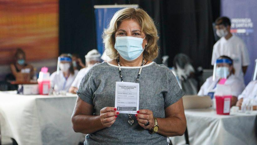 Covid-19: Empleados públicos de Salud y de Seguridad los primeros en ser vacunados en Santa Fe