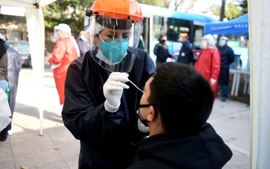 Coronavirus: En Rosario el número de contagiados ya superó los 76.700 casos desde el inicio Pandemia
