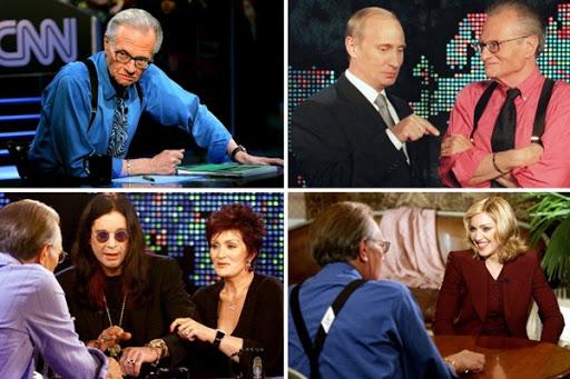 Murió Larry King, una leyenda del periodismo televisivo que hizo escuela en el mundo
