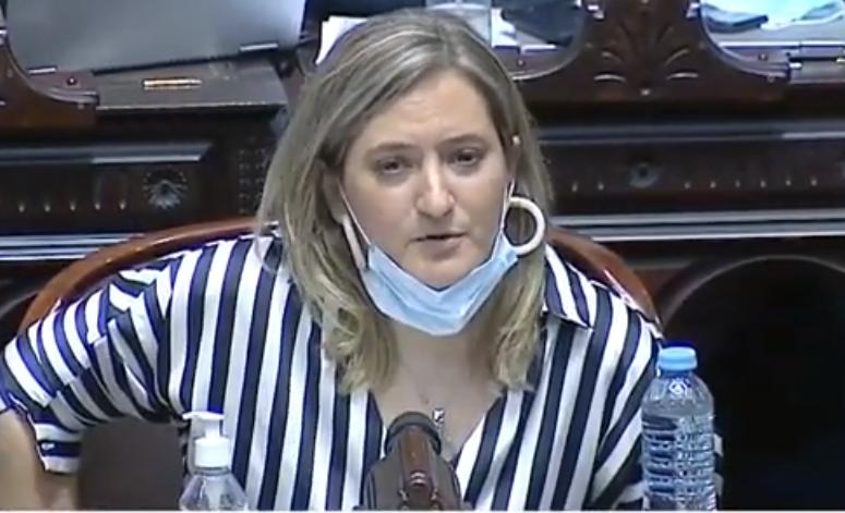 Severas críticas hizo la diputada nacional Lucila Lehmann al Gobierno nacional por el inicio de clases