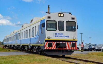 Tras cinco años interrumpido, Constitución con Pinamar otra vez unidas por un tren de pasajeros