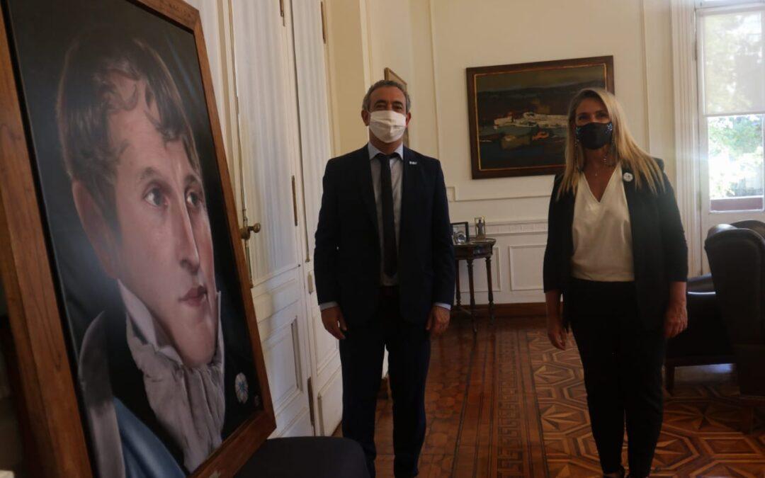En el día de la creación de nuestra bandera, Rosario recibió el retrato digitalizado más humanizado del General Manuel Belgrano
