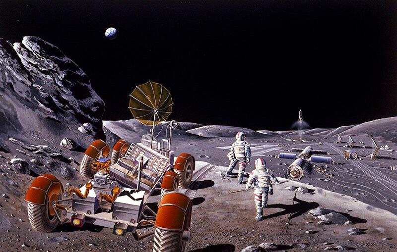 Chinos y rusos, sin los Estados Unidos, acordaron construir una nueva estación espacial lunar