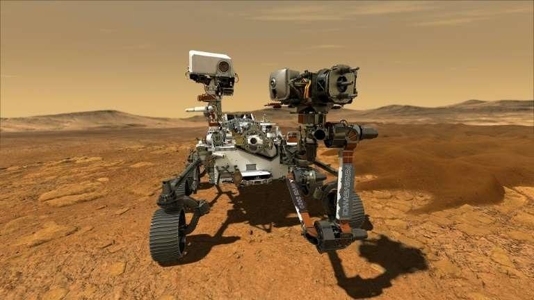 El rover 'Perseverance' tocará suelo marciano este jueves en búsqueda de vida antigua