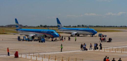 Doce vuelos semanales habrá en nuestro Aeropuerto y el Aeroparque 'Jorge Newbery'