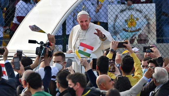 """Francisco se despidió de Irak pidiendo a sus feligreses """"resistir a la tentación de la venganza"""""""