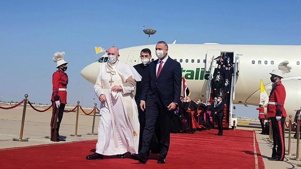 """Francisco en Irak: Consideran """"un paso adelante"""" su reunión personal con el líder máximo chiíta Ali al Sistani"""