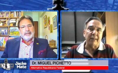 Pichetto ofreció una alternativa política para salir de la crisis y cómo armar un proyecto nacional inclusivo