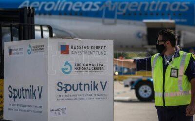 Covid-19: Llegaron 330 mil dosis Fase 1 de Sputnik V al país para nuestros mayores de 70 años
