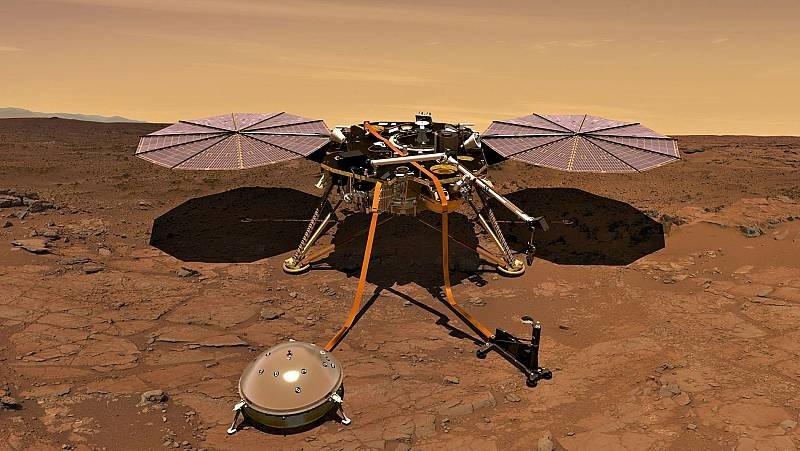 """El Módulo 'Insight' de la NASA detectó """"Martemotos"""" en la zona de 'Cerberus Fossae'"""