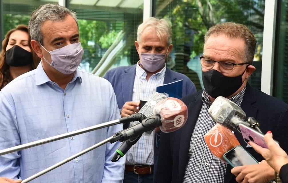 Pandemia: Satisfacción en gobiernos provincial y municipal rosarino por trabajo de fuerzas policiales y de seguridad nacional