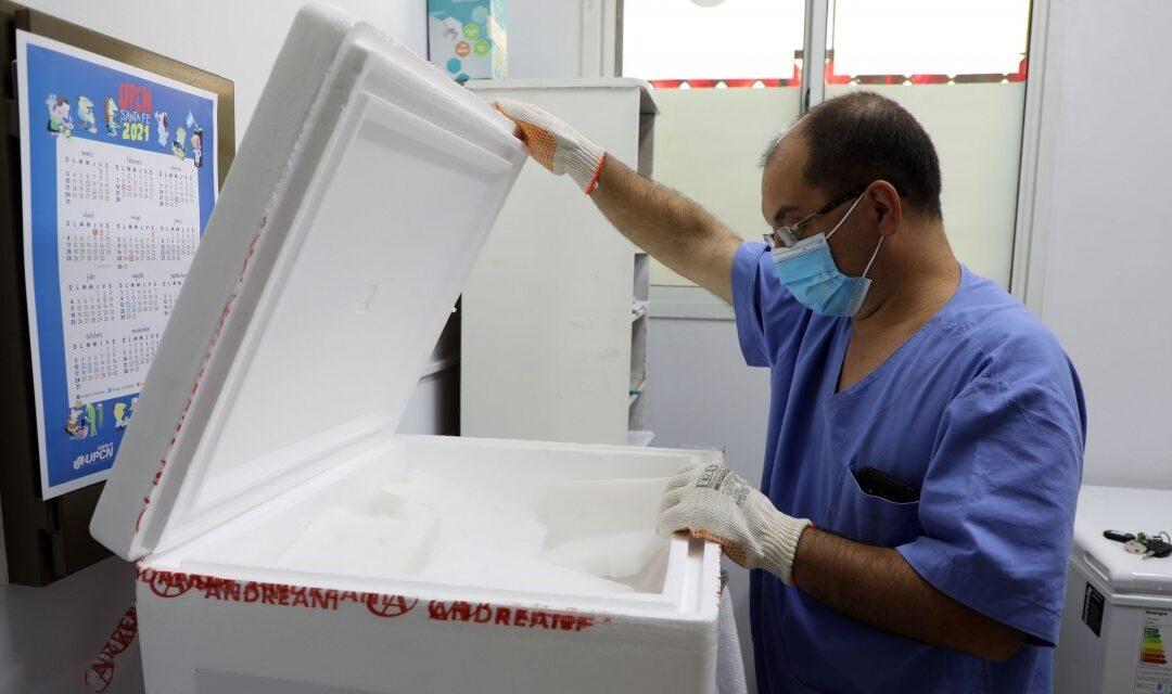 Santa Fe recibió 51 mil nuevas dosis de Sputnik V Fase 1 que serán distribuidas en 37 localidades