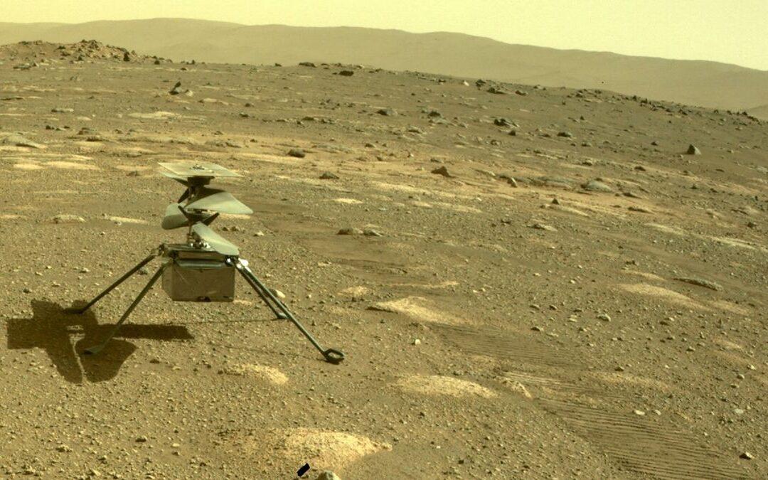 Nuevo paso del hombre en el espacio: Por primera vez voló un helicóptero en Marte comandado desde la Tierra