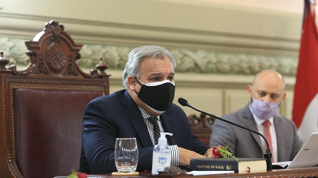 Pablo Farias reemplazó al extinto Miguel Lifschitz al frente de la Cámara de Diputados provincial