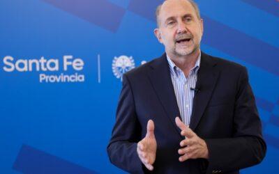 Perotti anunció las nuevas restricciones que regirán en Santa Fe desde este lunes