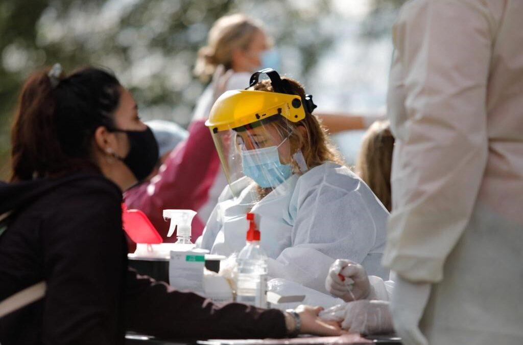 Masivos operativos de testeos practica en distintos sitios la Municipalidad de San Lorenzo contra el Coronavirus