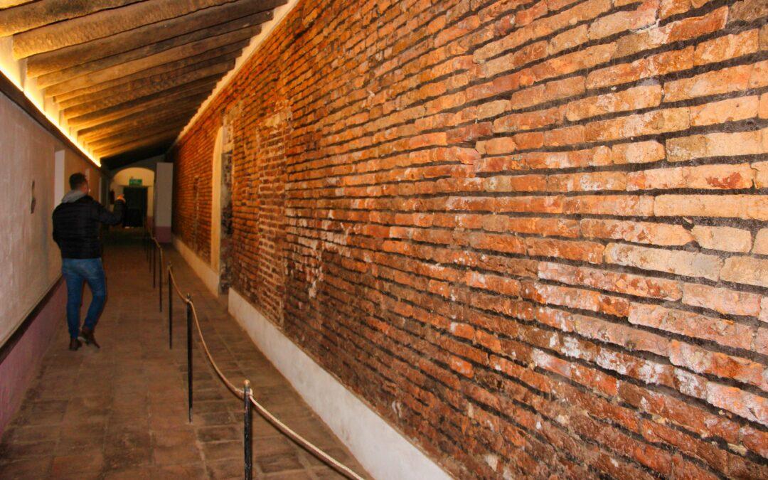 Los muros del Convento 'San Carlos', donde pernoctó San Martín, lucen ahora como en febrero de 1813