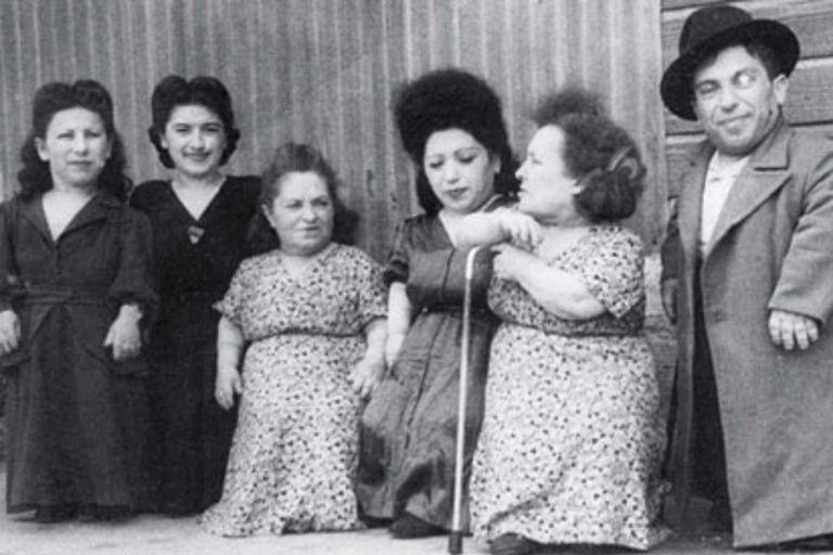 Los enanos que actuaban para Josep Mengele, 'El Ángel de la Muerte' del nazismo