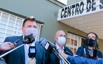 En San Lorenzo realizan controles gratuitos a pobladores que tuvieron Covid-19