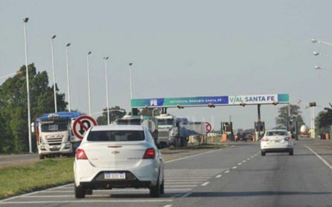 Iluminarán la autopista Rosario-Santa Fe desde Av. de Circunvalación hasta Aldao
