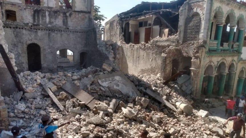 Como en el 2010, en Haití otra vez hubo un fuerte terremoto, y ya contabilizan más de 300 muertos