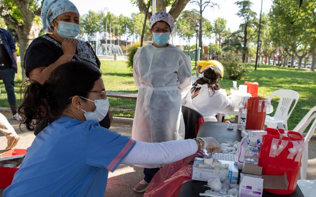 Inédito: En San Lorenzo ya miden el dosaje de anticuerpos 'anti spike' que desarrolla el organismo frente al Covid-19